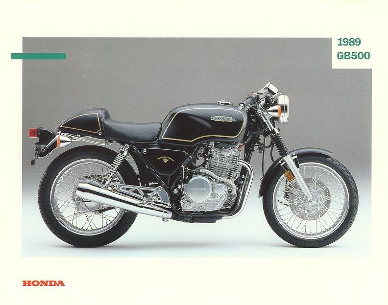 Honda GB 500 Clubman Brochures, PR Stuff and No. 1 Cult bike